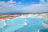 Pamukkale travertine pools — Stock Photo