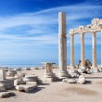Temple of Apollo ruins — Stock Photo