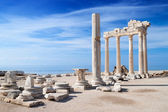 Temple of Apollo ruins — Foto de Stock