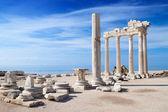阿波罗废墟的寺庙 — 图库照片