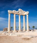 Templo de apolo ruínas — Foto Stock