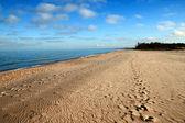 Písečná pláž — Stock fotografie