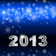 New year 2013 - Stock Vector