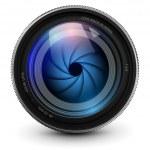 Camera lens — Stock Vector #18412457