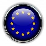 EU button — Stock Vector