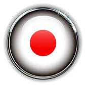 Botão de japão — Vetor de Stock