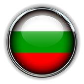 Botão de Bulgária — Vetor de Stock
