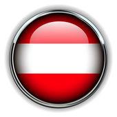 Austria button — Stock Vector