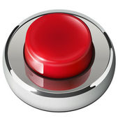 Red web button — Stock Vector