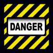 Royalty-Free Stock Vector Image: Danger sign