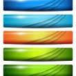 Banners, headers — Stock Vector #22449499