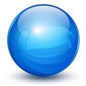 синие сферы — Cтоковый вектор
