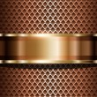 Background metallic - Imagen vectorial