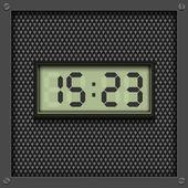 Digital watch background — Stock Vector