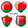 Stock Vector: Belarus icons