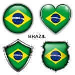 Brazil icons — Stock Vector #26836971