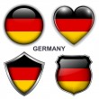 Germany icons — Stock Vector #26837097