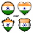 India icons — Stock Vector #26837099