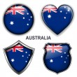 Australia icons — Stock Vector
