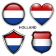 Holland icons — Stock Vector #26837453