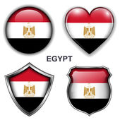 Egypt icons — Stock Vector