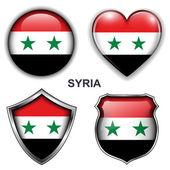 叙利亚图标 — 图库矢量图片