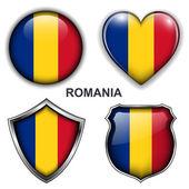 罗马尼亚的图标 — 图库矢量图片
