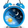 Stock Vector: Alarm clock