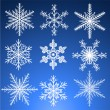 Snowflakes set — Stock Vector #30336359
