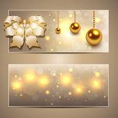 Vánoční nápisy — Stock vektor