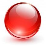 3D glass sphere — Stock Vector #38653769