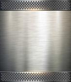 Sfondo metallico — Vettoriale Stock