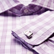 Close-up of cuff link — Stock Photo #13196293