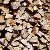 Kıyılmış ateşe odun yığını — Stok fotoğraf