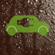Eco-friendly car — Stock Photo