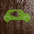 carro eco-friendly — Foto Stock