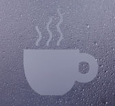 A cup of coffe — Stock Photo
