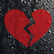 Conceptual broken heart — Stock Photo #49535241