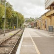 Stock Photo: Old Steam Time Railway Station