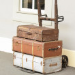 Stock Photo: Old Luggage