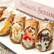 Sicilian cannoli — Stock Photo #12570514