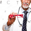 Ophthalmologist — Foto de Stock