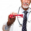 Stock Photo: Ophthalmologist