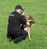 Guardia di sicurezza — Foto Stock