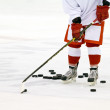 Ice hockey player — Stock Photo