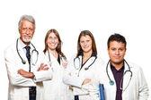 Médico y enfermera — Foto de Stock