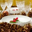 Christmas table — Foto de Stock
