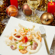 Salade de fruits de mer — Photo
