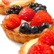 Stock Photo: Fresh fruit tart