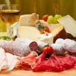 Постер, плакат: Cold cuts and cheese